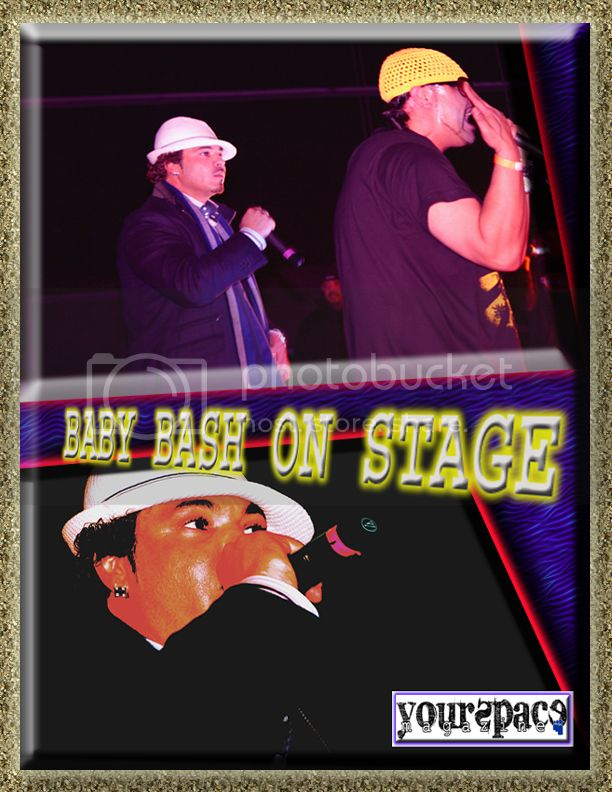 BABY BASH ON STAGE