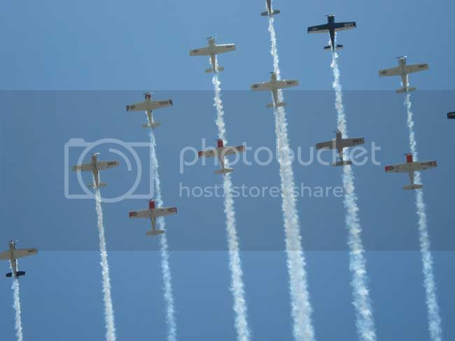 Form-2.jpg T-28 formation, 60th aniverisary picture by wa4brl